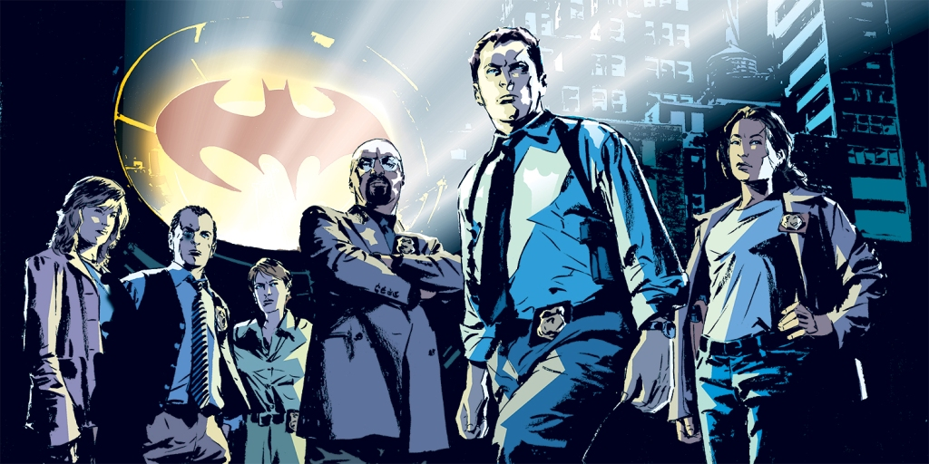 The Gotham Central comics, by Ed Brubaker and Greg Rucka